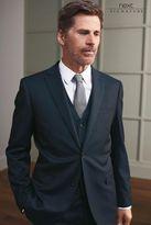 Next Navy Slim Fit Signature Italian Wool Suit: Trousers