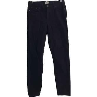 J.Crew Black Cotton - elasthane Jeans for Women