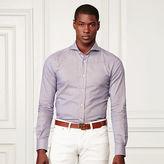 Ralph Lauren Purple Label Tick-Weave Cotton Sport Shirt