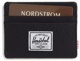 Herschel Men's Charlie Card Case - Black