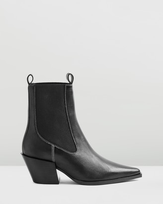 Topshop Mystery Western Boots