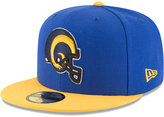 New Era Los Angeles Rams Team Basic 59FIFTY Cap