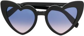 Saint Laurent Eyewear Heart-Shaped Sunglasses
