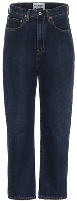 Junya Watanabe High-rise straight jeans