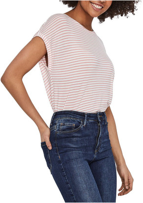 Vero Moda Ava Striped Short Sleeved Top