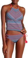 Lucky Brand Mosaic Tie Hipster Bikini Bottom