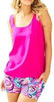 Lilly Pulitzer Cosmos Silk Top