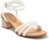 Chinese Laundry Montezuma Mightly Snake-Embossed Ankle Strap Sandal