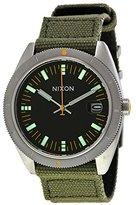 Nixon Men's Rover A3551089 Green Cloth Quartz Watch with Dial
