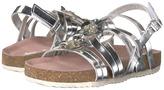 Pazitos Rhinestone Blossom Girl's Shoes