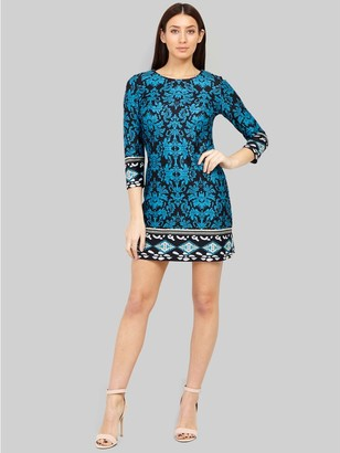 M&Co Izabel wallpaper print shift dress