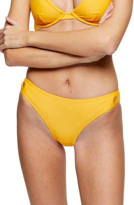 Topshop Grommet Bikini Bottoms