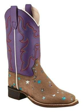 Oldwest Old West Children's Broad Square Toe Boots