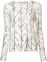 Proenza Schouler branch print T-shirt - women - Cotton - L