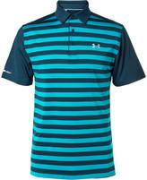 Under Armour - Coldblack Tempo Striped Golf Polo Shirt