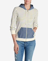 Eddie Bauer Women's Legend Wash Hoodie - Stripe