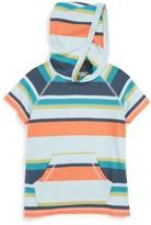 Tea Collection Toddler Boy's Namadgi Happy Stripe Hoodie
