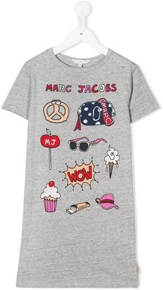 The Marc Jacobs Kids cartoon print T-shirt dress