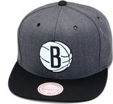 Mitchell & Ness BROOKLYN NETS NBA Current Dark Heather 2 Tone Snapback