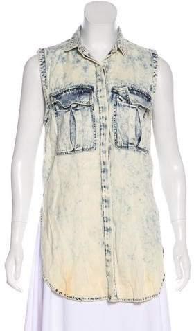 cf53dffa Helmut Lang Blue Women's Tops - ShopStyle