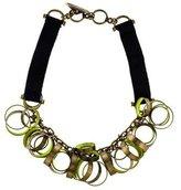 Lela Rose Circle Tie Necklace