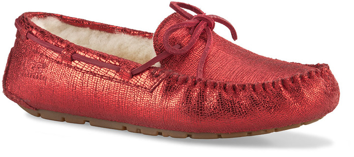 UGG Dakota Suede Moccasin Slippers