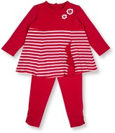 Le Top Striped Swing Top & Pant 2-Piece Set (Toddler Girls)