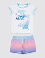 Marks and Spencer Disney FrozenTM Short Pyjamas (2-10 Years)