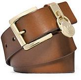 Michael Kors Charm Keeper Leather Belt