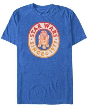 Star Wars Men's Classic R2-D2 Gradient Logo Short Sleeve T-Shirt