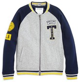 True Religion Boys' Heavy Knit Varsity Jacket - Little Kid, Big Kid