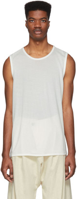 Jan-Jan Van Essche Off-White Washi Jersey Tank Top