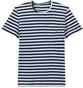 Petit Bateau Mens two-tone striped tee