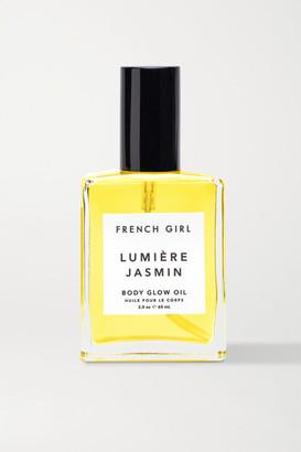 French Girl Organics Lumiere Jasmine Body Glow Oil, 60ml