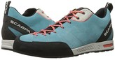 Scarpa 72601 (Ice Fall/Coral Red) Women's Shoes