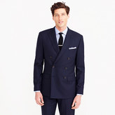 J.Crew Ludlow double-breasted suit jacket in Italian wool