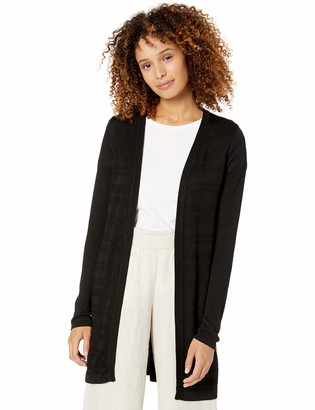 Calvin Klein Women's Sheer Long Cardigan