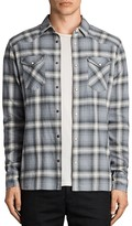 AllSaints Wyoming Slim Fit Button-Down Shirt