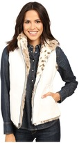 Scully Siena Reversible Faux Leather/Fur Vest