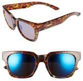 Smith Optics Women's 'Comstock' 52Mm Rectangular Sunglasses - Black Tortoise/ Grey Green