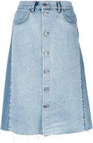 MiH Jeans Park denim pencil skirt - women - Cotton - L