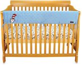 Trend Lab Dr. SeussTM Cat in the Hat CribWrap® Wide Long Rail Cover in Blue