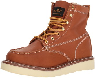 """AdTec Ad Tec Men's 6"""" Goodyear Welt Construction Ankle Boot Brown (Brown Numeric_10)"""