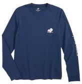 Vineyard Vines Boy's Turkey Whale Pocket T-Shirt