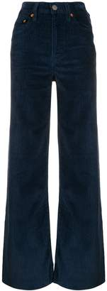 Levi's high-waisted corduroy trousers