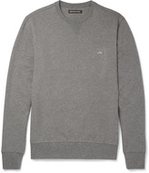 Michael Kors - Mélange Loopback Stretch-cotton Jersey Sweatshirt