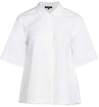 Lafayette 148 New York, Plus Size Farrell Button-Up Blouse