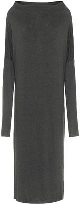 Norma Kamali Stretch-jersey maxi dress