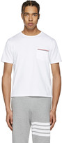Thom Browne White Pocket T-Shirt