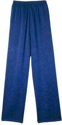 Forte Forte Crash Satin Elasticated Pants in Noche